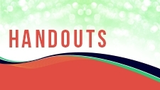 handouts & workbooks