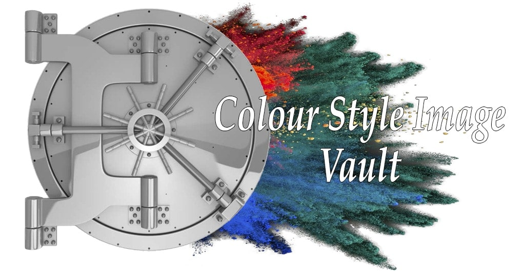 welcome to the colour style image vault